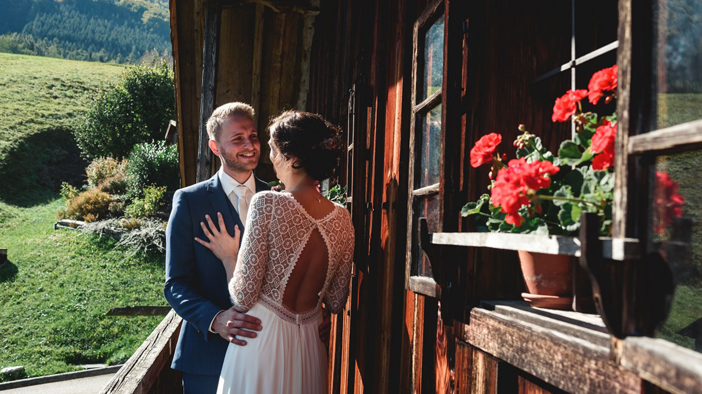 Hochzeit im Heimatshaus